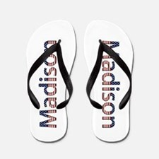 Madison Stars and Stripes Flip Flops