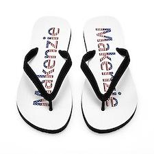 Makenzie Stars and Stripes Flip Flops