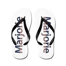 Marjorie Stars and Stripes Flip Flops