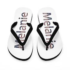 Melanie Stars and Stripes Flip Flops