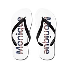 Monique Stars and Stripes Flip Flops