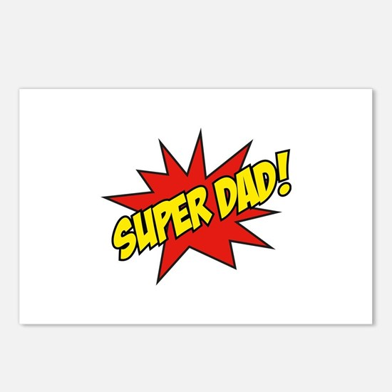 Super Dad! Postcards (Package of 8)
