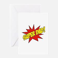Super Dad! Greeting Card