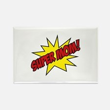 Super Mom! Rectangle Magnet