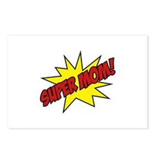 Super Mom! Postcards (Package of 8)