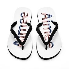 Aimee Stars and Stripes Flip Flops
