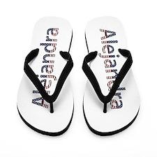Alejandra Stars and Stripes Flip Flops