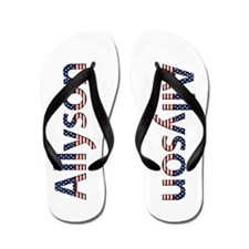 Allyson Stars and Stripes Flip Flops