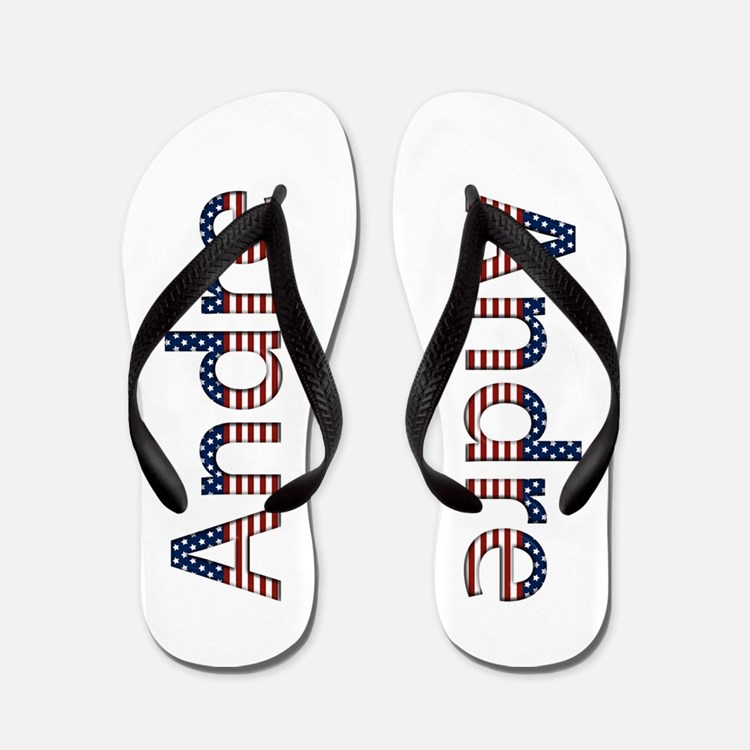 Andre Stars and Stripes Flip Flops