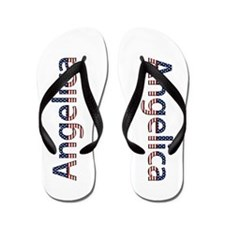 Angelica Stars and Stripes Flip Flops