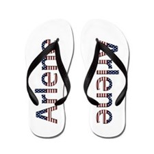 Arlene Stars and Stripes Flip Flops