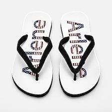 Arlene Stars and Stripes Flip Flops