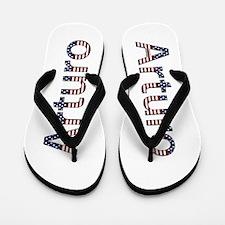 Arturo Stars and Stripes Flip Flops