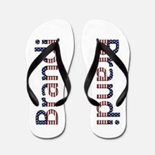 Brandi Stars and Stripes Flip Flops