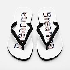 Breanna Stars and Stripes Flip Flops