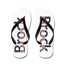 Brock Stars and Stripes Flip Flops