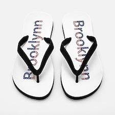 Brooklynn Stars and Stripes Flip Flops