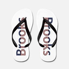 Brooks Stars and Stripes Flip Flops