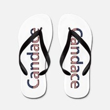 Candace Stars and Stripes Flip Flops