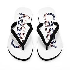 Casey Stars and Stripes Flip Flops