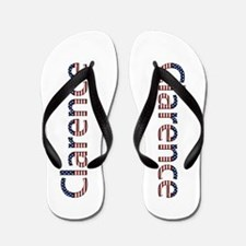 Clarence Stars and Stripes Flip Flops