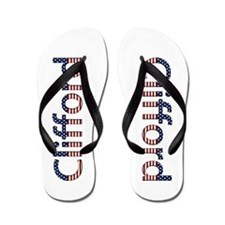 Clifford Stars and Stripes Flip Flops