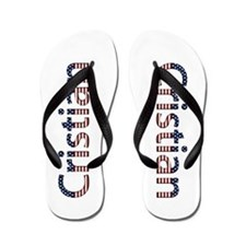 Cristian Stars and Stripes Flip Flops