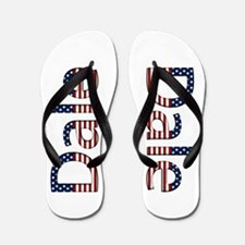 Dale Stars and Stripes Flip Flops
