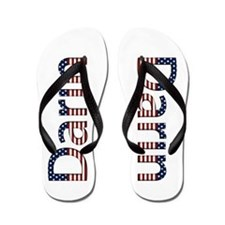 Darin Stars and Stripes Flip Flops