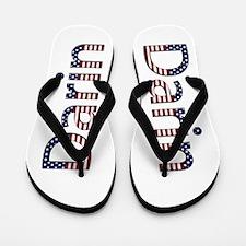 Darin Stars and Stripes Flip Flops