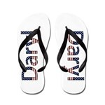 Daryl Stars and Stripes Flip Flops