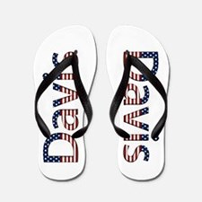 Davis Stars and Stripes Flip Flops