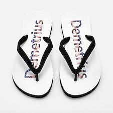 Demetrius Stars and Stripes Flip Flops