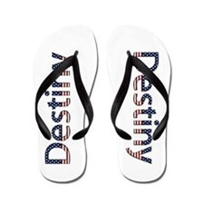 Destiny Stars and Stripes Flip Flops