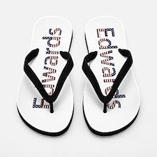 Edwards Stars and Stripes Flip Flops