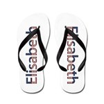 Elisabeth Stars and Stripes Flip Flops