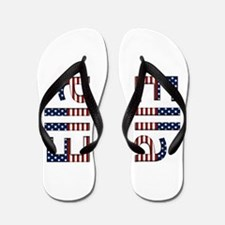 Ella Stars and Stripes Flip Flops