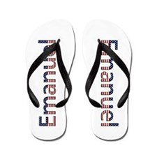 Emanuel Stars and Stripes Flip Flops