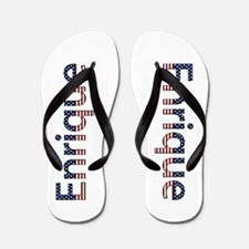 Enrique Stars and Stripes Flip Flops