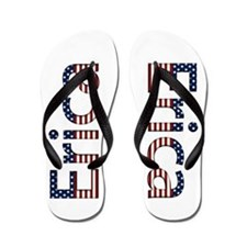 Erica Stars and Stripes Flip Flops