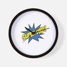 Super Dad! Wall Clock