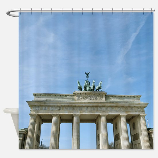 Brandenburg Gate Berlin Shower Curtain