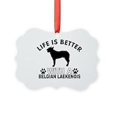Belgian Laekenois vector designs Ornament