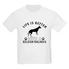 Belgian Malinois vector designs T-Shirt