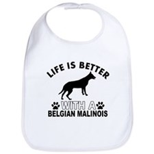 Belgian Malinois vector designs Bib