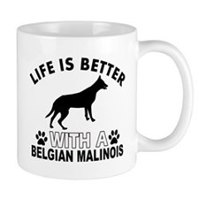 Belgian Malinois vector designs Mug