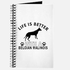 Belgian Malinois vector designs Journal