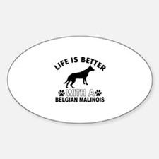 Belgian Malinois vector designs Decal