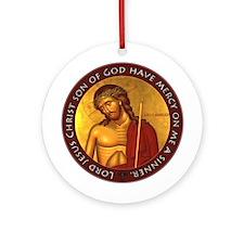 Jesus Prayer - Bridegroom Icon Ornament (Round)