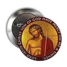 "Jesus Prayer - Bridegroom Icon 2.25"" Button"